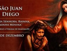 Igreja celebra hoje São Juan Diego, o vidente da Virgem de Guadalupe